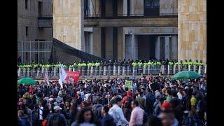 Desórdenes aislados durante segunda marcha pacífica de estudiantes de universidades públicas
