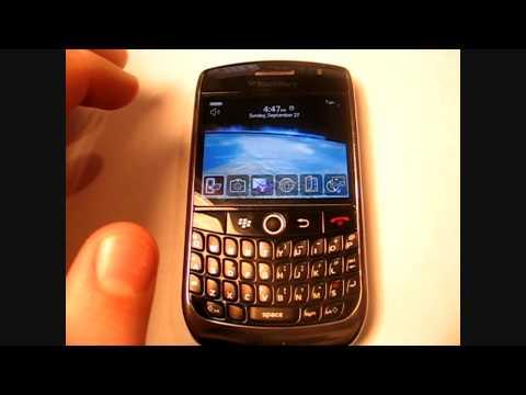 Blackberry Curve 8900 Tech Specs