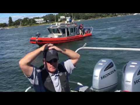 Maritime Police Training at Lagoon Pond