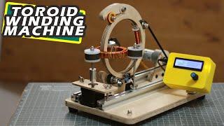 DIY Arduino based Toroid coil winding Machine | Arduino project