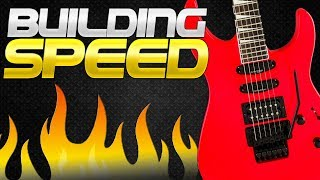 How to Build Speed on Guitar