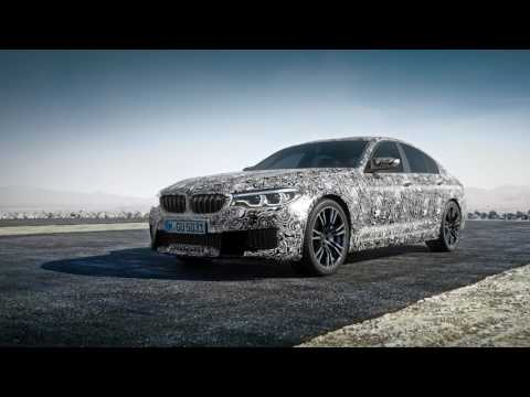 BMW M5 (F90) with M xDrive and 8 Speed Automatic Transmission.