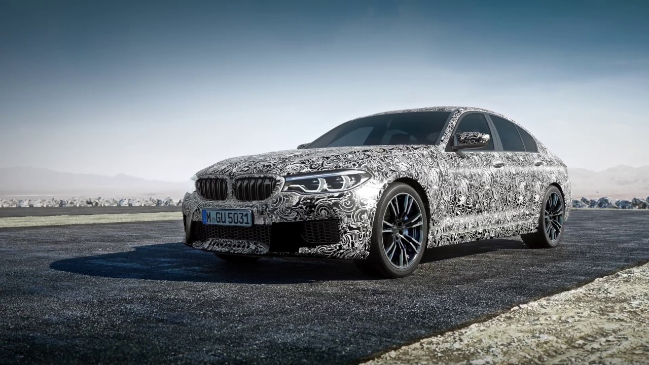 BMW M5 F90 with M xDrive and 8 Speed Automatic Transmission