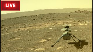 Live on Mars Helicopter 3rd Takeoff & Audio from Mars (Mars 2020 Perseverance Rover & Ingenuity)