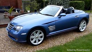 Video Review of 2007 Chrysler Crossfire Convertible For Sale SDSC Specialist Cars Cambridge UK