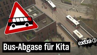 Realer Irrsinn: Buseinweiser vor Kita in Hamburg   extra 3 Spezial: Der reale Irrsinn   NDR