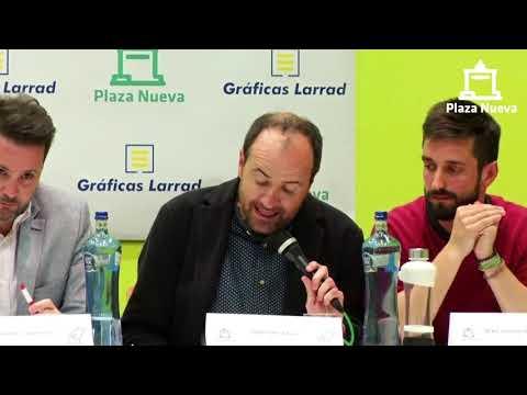 El debate de Plaza Nueva: Ángel Sanz Alfaro (PSN) pide el voto a la ciudadanía de Tudela