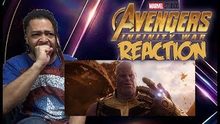 Marvel Studios Avengers Infinity War Official Trailer REACTION