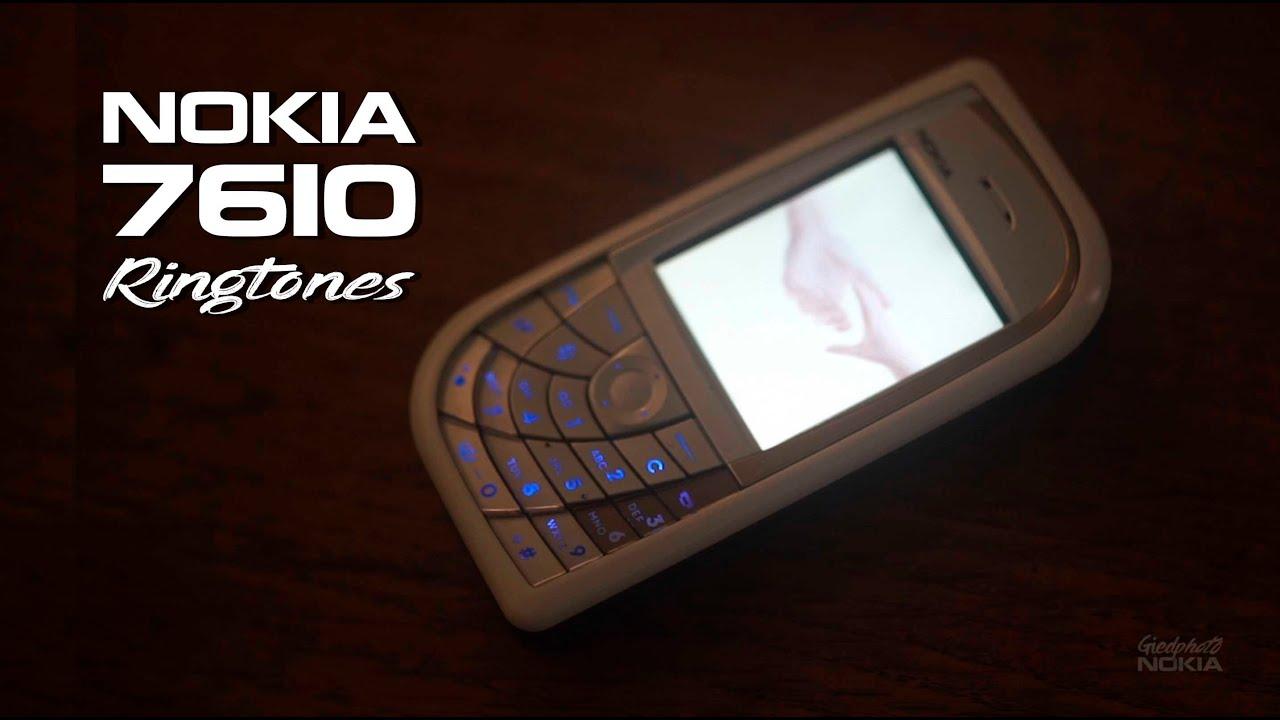 Nokia 7610 (2004)  Ringtones