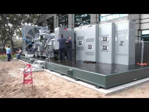 2.5MW MTU Diesel Genset Installation