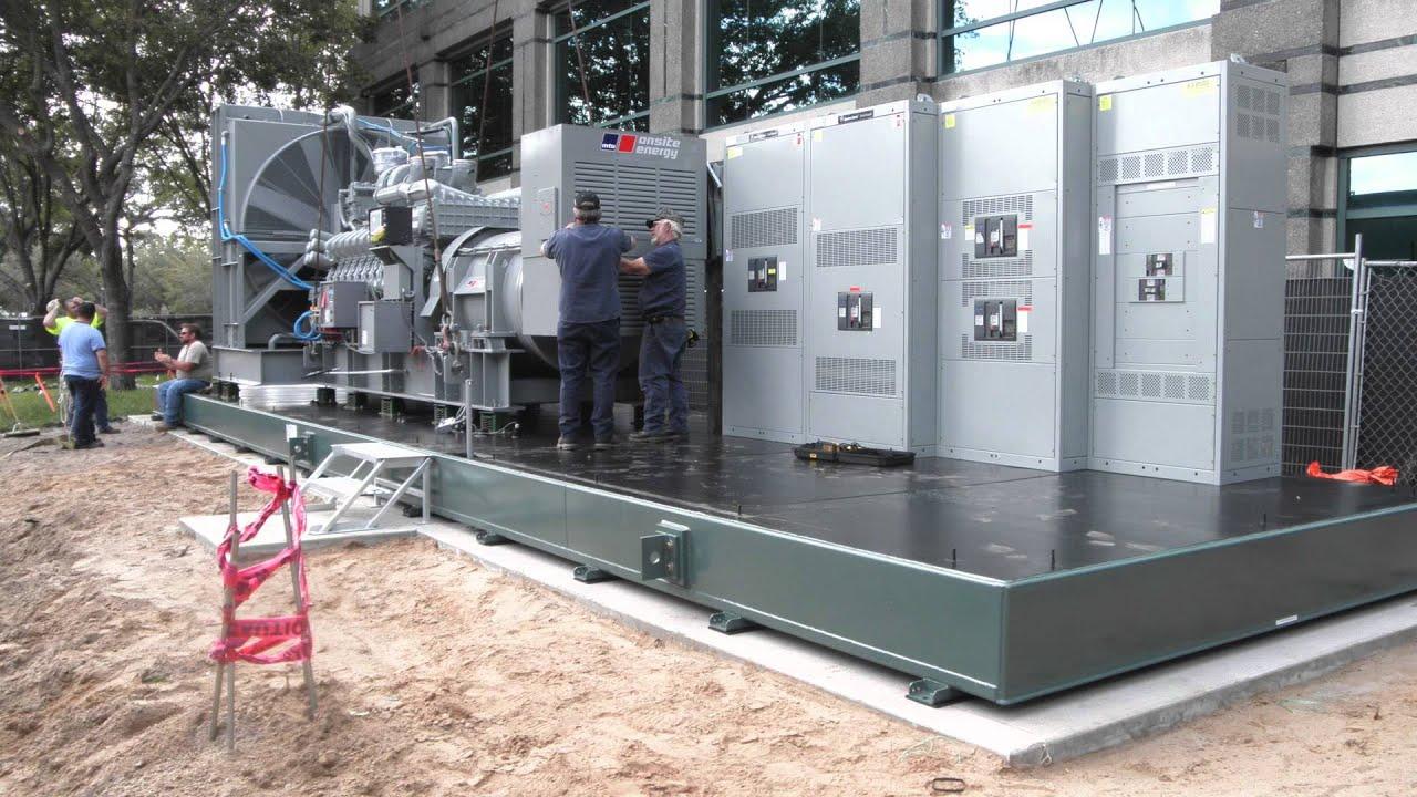 2 5MW MTU Diesel Genset Installation