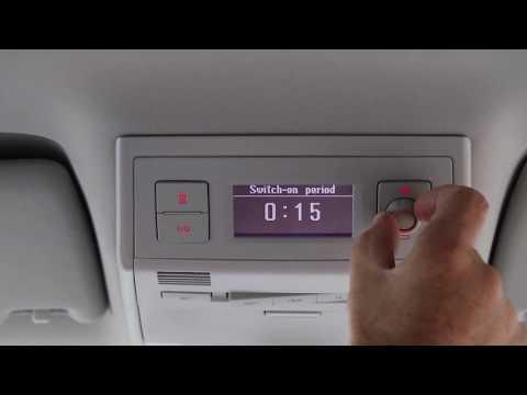 VW California Ocean - Parking / Auxiliary Heater
