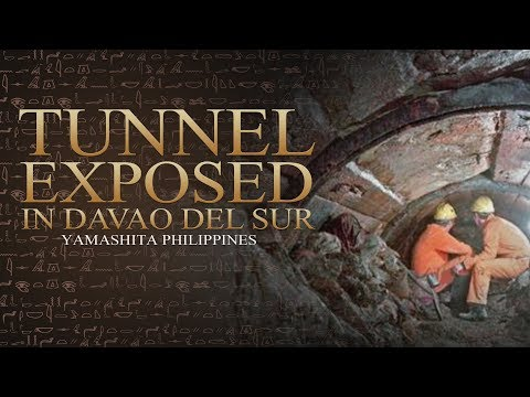 Tunnel Exposed in Davao del Sur