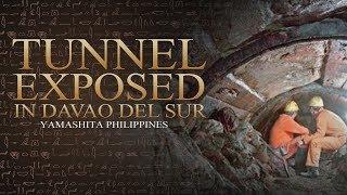 Tunnel Exposed in Davao del Sur