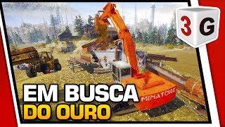 GOLD RUSH:THE GAME - VEJA COMO FICAR RICO GARIMPANDO