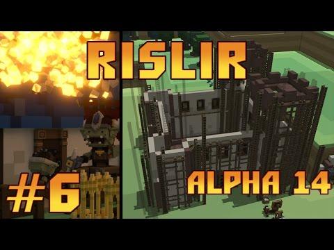 StoneHearth Alpha 14 #6 - Строительство крепости и разочарование...