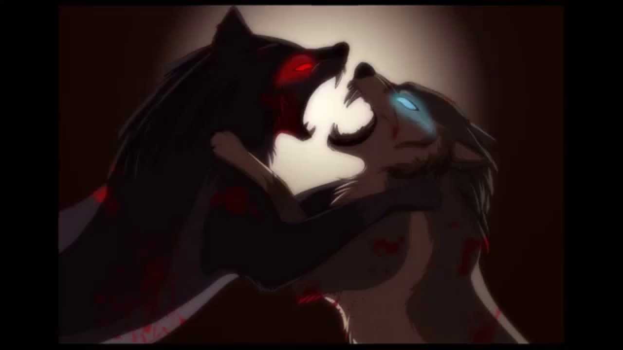 anime wolves animals