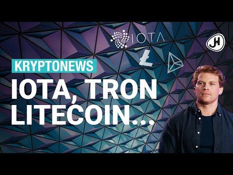 5x-krypto-news-der-letzten-tage:-iota,-litecoin,-tron,-liechtenstein,-facebook