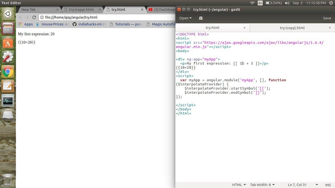 AngularJS with Django - Conflicting template tags || angular with ...