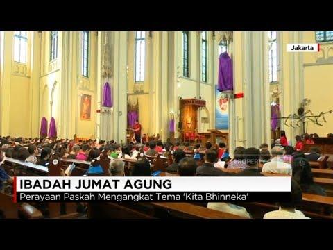 Ibadah Jumat Agung, 'Kita Bhineka, Kita Indonesia'