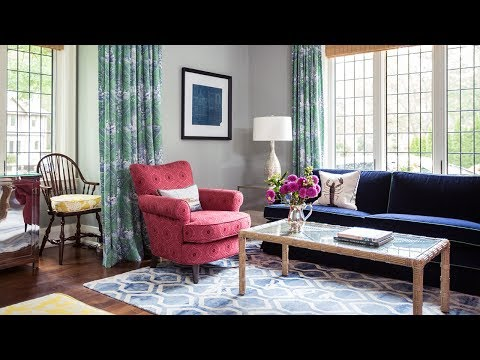 Interior Design — Makeover With Color and Pattern