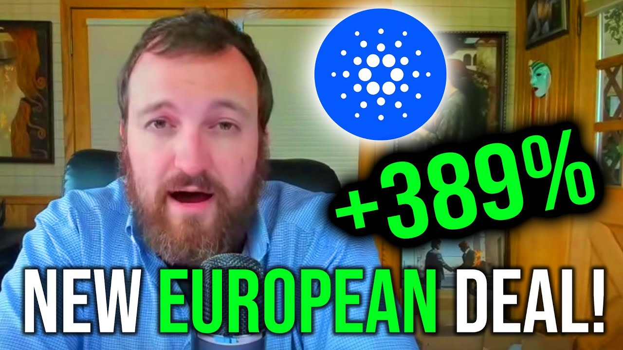 HUGE Cardano News: Major Deal With European Union INCOMING?!