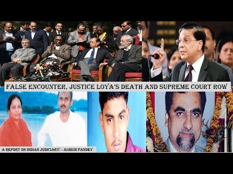 Judiciary special: Revolt by SC Judges,2 Fake Encounter,1 Dead Judge & a suicide note of an ex CM