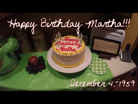 Happy 55th Birthday Martha