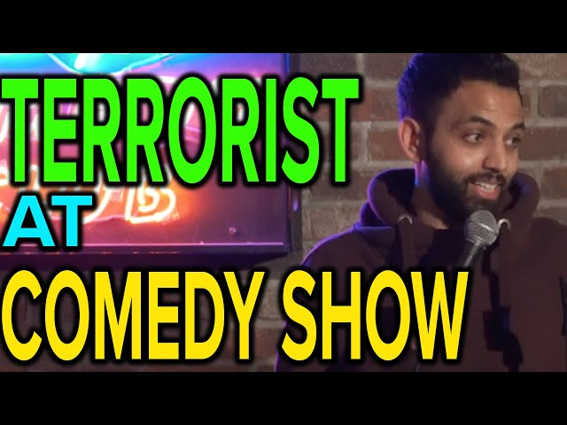 TERRORIST AT COMEDY SHOW | Akaash Singh | Stand Up Comedy