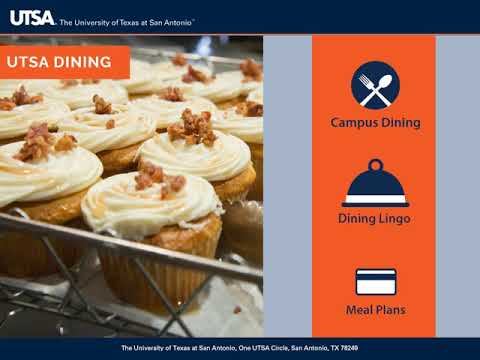UTSA Campus Services Orientation 2018-2019