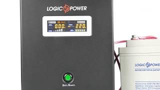 logicPower LPY-W-PSW  Обзор ИБП для котла