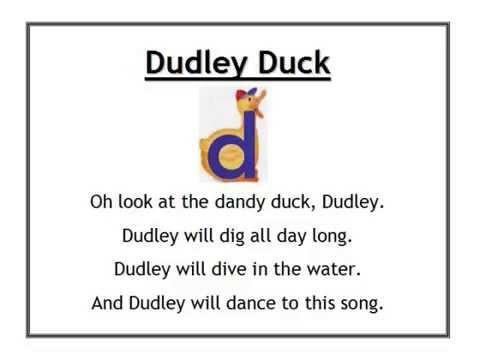 Alphafriends Dudley Duck