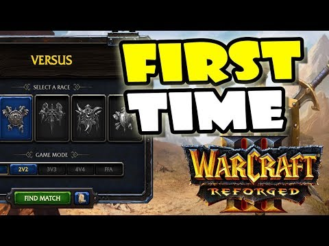 My First Experience with Warcraft 3 Reforged Beta