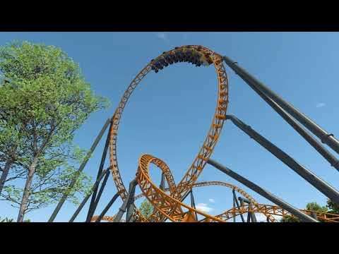 Dreamworld New Roller Coaster POV Animation - Dreamworld Australia