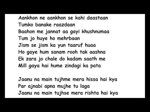 Apna mujhe tu laga full song lyrics - 1920 evil returns (http://www.chatadda.in/)