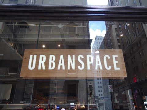 ニューヨークのフードコート / Urbanspace