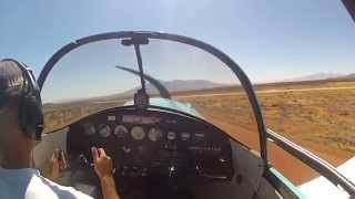 Repeat youtube video Challenging Arizona Airstrips - Ercoupe Bisbee Dirt Strip