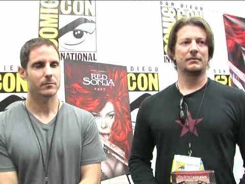 Red Sonja - Comic-Con 2008 Exclusive: Douglas Aarniokoski and David N. White Interview fragman