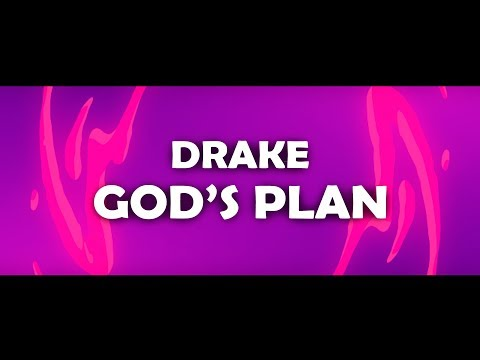 Drake ‒ God's Plan (Lyrics) 🎤 (Sevnth & Alo Remix) [Cover]