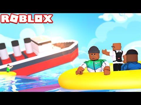 ESCAPE A SINKING SHIP IN ROBLOX