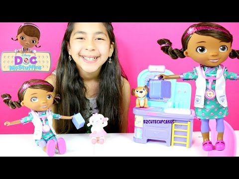 Doc McStuffins Magic Talking Doc & Clinic Playset|B2cutecupcakes