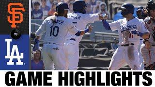AJ Pollock, Mookie Betts homer in 6-2 win   Giants-Dodgers Game Highlights 8/9/20