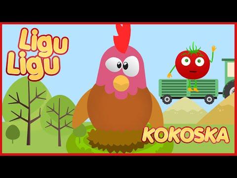 Ja sam kokoska - Pametna Kokoska ★ LIGU LIGU PRICE ★ Decije pesme / Pesmice za decu