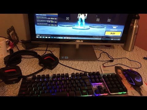 Unboxing New Gaming Keyboard And Mouse