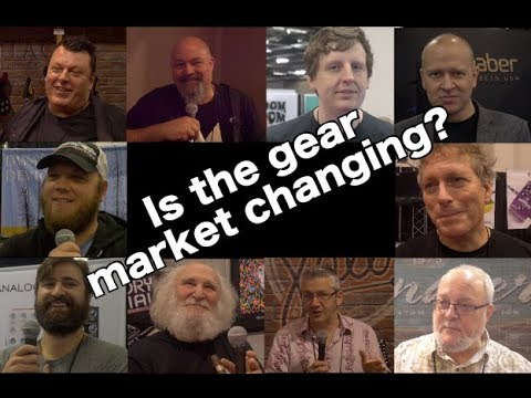 Is the guitar gear market changing? Interviews with builders of pedals, amps, and guitars