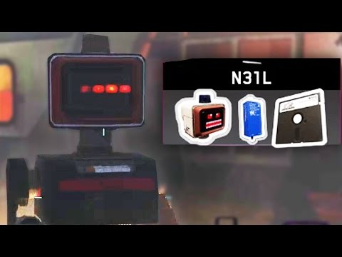 INFINITE WARFARE ZOMBIES EASTER EGG - N31L ROBOT FULL UPGRADE TUTORIAL! (Zombies In Spaceland)