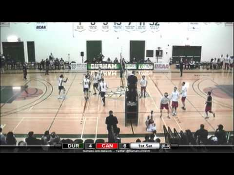 Men's Volleyball - Canadore Panthers at Durham Lords - Feb. 7, 2016