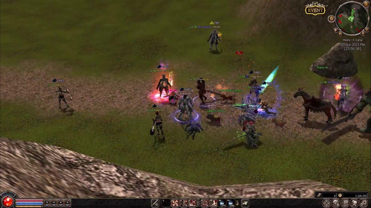 cadeTR - kule önü savaşları - Rohan2 Alesta #1 #Metin2  #Metin2Pvp
