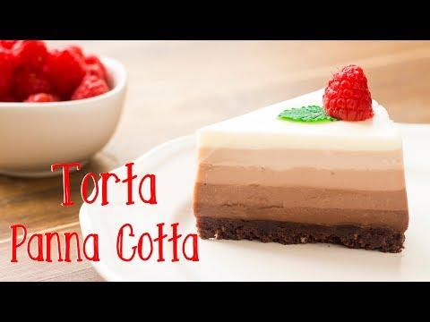 torta-panna-cotta-al-cioccolato-a-5-strati-|-ricetta-dolce-facile-e-senza-cottura-|-55winston55