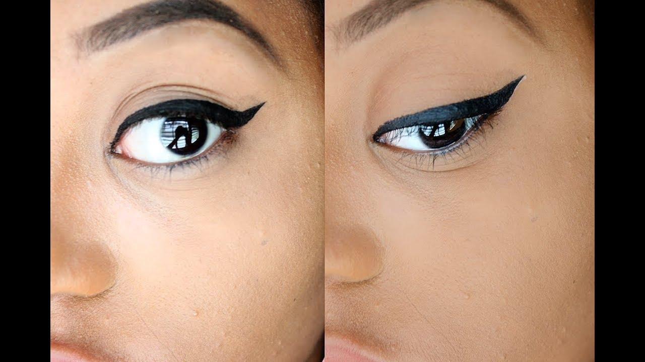Beginner Winged Eyeliner